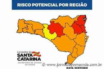 Pomerode e região continuam no nível gravíssimo, na Matriz de Risco estadual - Jornal de Pomerode