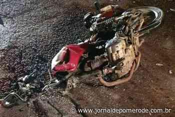 Motociclista fica gravemente ferido em acidente na BR-470 - Jornal de Pomerode