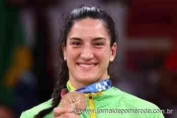 Mayra Aguiar conquista bronze no judô na Olimpíada de Tóquio - Jornal de Pomerode