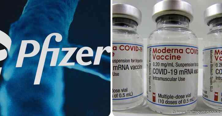 Vaccini, Pfizer e Moderna aumentano i prezzi per l'Unione europea: 25% e 10% in più secondo i nuovi accordi