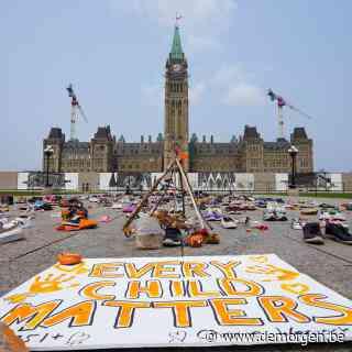 Demonstranten eisen onderzoek van Canadese premier naar 'culturele genocide' in kostscholen