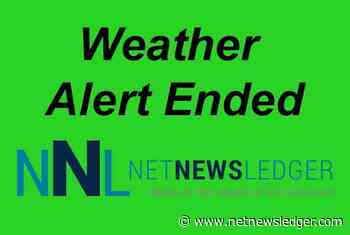 Thunder Bay - Ended - Special Weather Statement in Effect as of 01:00am - Net Newsledger