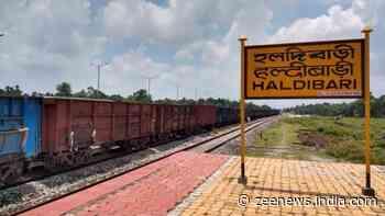 First goods train from India's Haldibari reaches Chilahati in Bangladesh