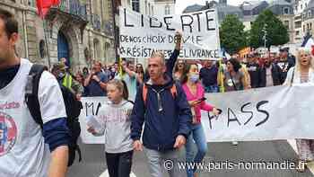 À Rouen et au Havre, les « anti » rassemblés en masse contre le pass sanitaire - Paris-Normandie