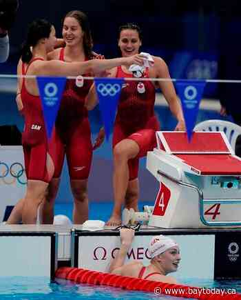 Oleksiak makes history with seventh Olympic medal, De Grasse wins 100m bronze