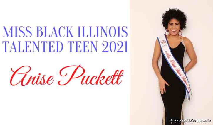 Chicago Student Competes for 2021 Miss Black USA Teen Crown