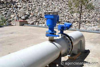 Detectaron un desperfecto en el acueducto Nogolí - Agencia de Noticias San Luis