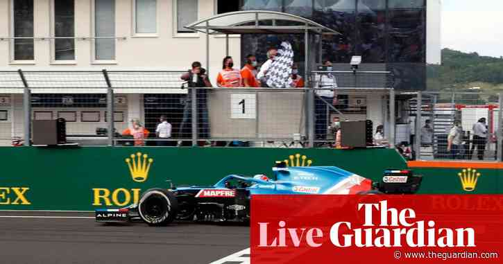 F1 Hungarian GP: Esteban Ocon takes victory after eventful race – live!