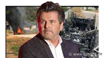 Feuer-Drama bei Thomas Anders auf Ibiza - Auto geht in Flammen auf - echo24.de
