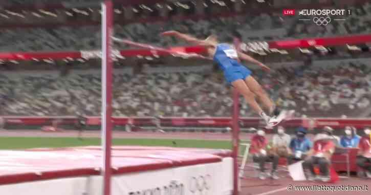 Tokyo 2020, nelle immagini di Discovery+ tutti i salti di Gianmarco Tamberi nella finale del salto in alto (video)