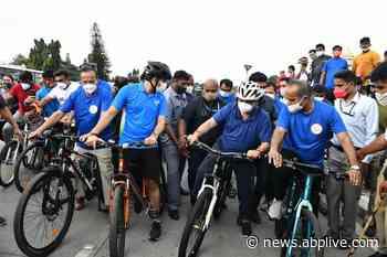 4 Cycling Tracks To Spruce Up Bengaluru Roads Soon, Assures Karnataka CM Bommai - ABP Live
