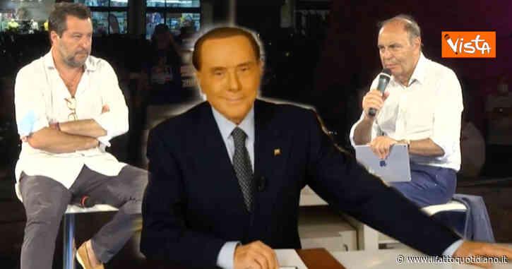 """Berlusconi promuove Salvini: """"Forza Italia e Lega al lavoro per partito unico centrodestra. Abbiamo voglia di cambiare l'Italia"""""""