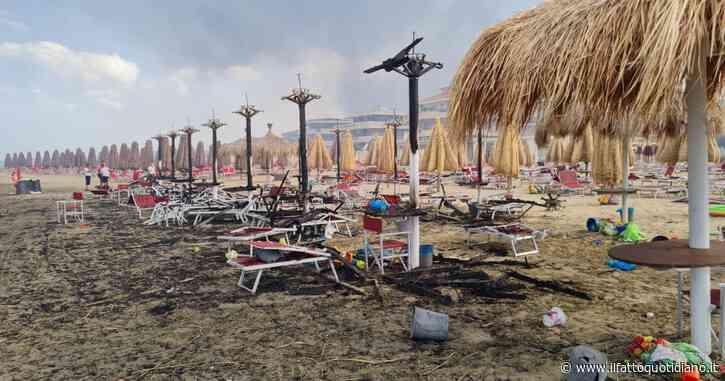 Abruzzo, brucia la Pineta Dannunziana di Pescara: cinque in ospedale per intossicazione. Incendi anche in provincia di Chieti