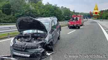 Arona, incidente in autostada A26: ferita una persona - NovaraToday