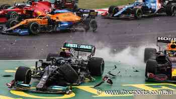 'What the f**k?' F1's all-time chaos in maiden win as SIX crash out and Hamilton pulls off miracle