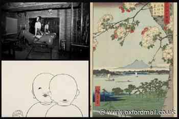 Tokyo Art & Photography exhibition in Oxford's Ashmolean Museum
