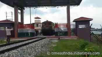 Regular freight train service starts between India, Bangladesh on revived Haldibari-Chilahati rail route