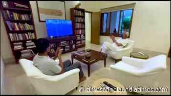Odisha CM Naveen Patnaik watches Indian hockey team win in Olympic quarter-finals