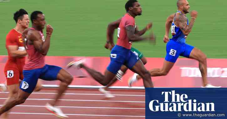 'Childhood dream come true': Marcell Jacobs crowned men's 100m champion – video