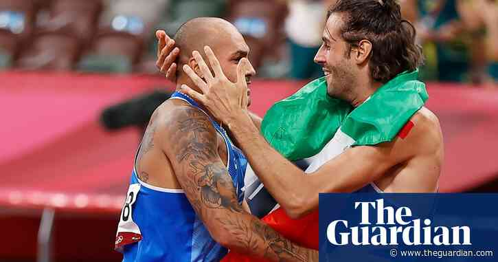Italian friends share delight at two shock golds inside five minutes