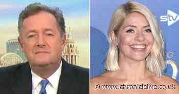 Holly Willoughby sends harsh text to Piers Morgan over hosting GMB together