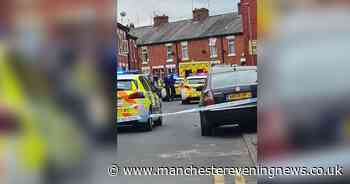 Large emergency service response in Gorton after child falls from a window