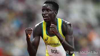 Rohan Browning may have missed out on golden glory but Peter Bol will chase it in the men's 800m final