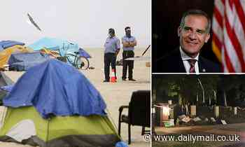 LA Mayor Eric Garcetti signs order criminalizing homelessness, with possible fines of up to $1,000