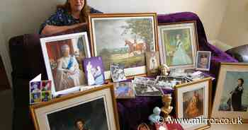 Royal superfan has treasure trove of more than 3,000 items celebrating Queen