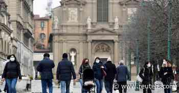 Italy reports 5 coronavirus deaths on Sunday, 5321 new cases - Reuters