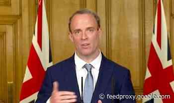 'You've violated international law!' Raab promises 'response' to Iran's killing of Briton