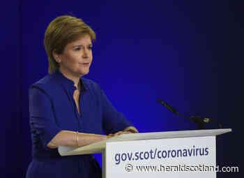 Nicola Sturgeon set to announce Covid lockdown changes this week - HeraldScotland