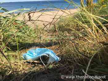 Concern as discarded face masks add to litter across Scotland - The National