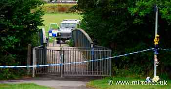 Man, woman and boy, 13, held in murder probe after child, 5, found dead in river