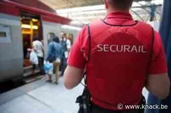 Spoorvakbonden voeren in Brussel actie rond veiligheid Securail-personeel