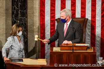 Democrats want Kevin McCarthy to resign for joke about hitting Nancy Pelosi with gavel