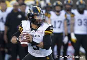 Ticats to go with veteran Masoli as their starter; competed after being pressed on it