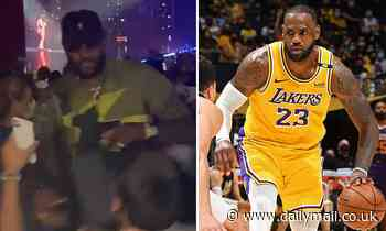 Video of LeBron James shoving fan who asked him to take photo at Usher concert goes viral