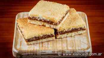 Cuadrados de coco y dulce de leche - El Ancasti