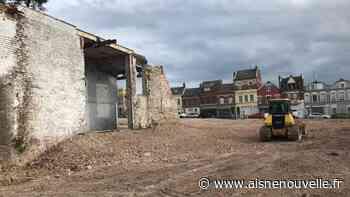 La friche des anciens locaux de L'Aisne Nouvelle de Saint-Quentin prête à être commercialisée - L'Aisne Nouvelle