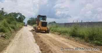Rehabilitan acceso de terracería entre la carretera federal Victoria-Matamoros al ejido Juan Antonio - El Mañana de Reynosa