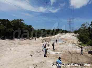 Ejido de Puerto Morelos facilita tierras para la vía alterna como parte de los trabajos del Tren Maya - Galu