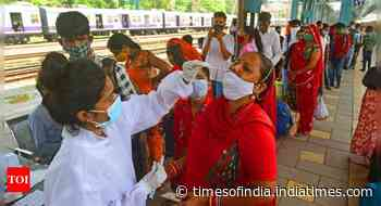 Coronavirus live updates: Kerala's daily case count stays over 20k for 6th straight day - Times of India
