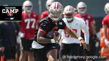 Trey Lance Flaunts His Mobility on Day 4 of #49ersCamp