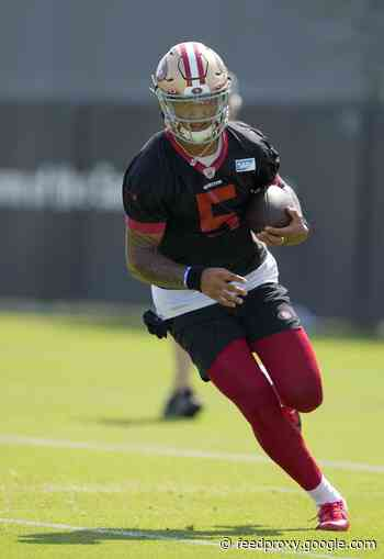 Jimmy Garoppolo's errors, Trey Lance's explosiveness stand out in 49ers' practice