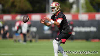 Jimmy Garoppolo Throws Two Interceptions on Day 4 of Camp