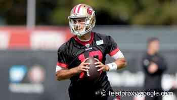 """Kyle Shanahan: Jimmy Garoppolo the 49ers' starter because """"he's the best quarterback right now"""""""