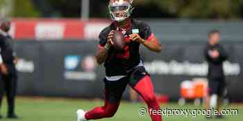 49ers camp observations: Trey Lance closer to competing for QB job?