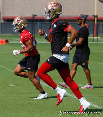 49ers training camp: Trey Lance's rushing dynamic finally revealed; Garoppolo throws first interceptions