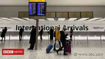 Coronavirus: New rules for fully jabbed US and EU arrivals begin - BBC News